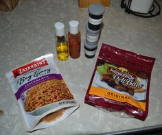 Backpacking Meal - Jumbalaya Rice