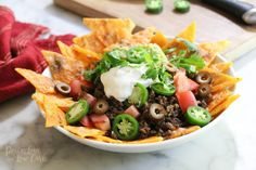 Keto Low Carb Nachos - Peace Love and Low Carb