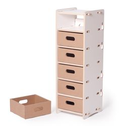 Modern 6 Drawer Organizer for Kids Rooms