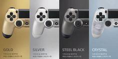 Presentaron cuatro nuevos controles para PlayStation 4 http://j.mp/1gxeWS5    #PlayStation4, #Sony, #TokyoGameShow, #Videojuegos