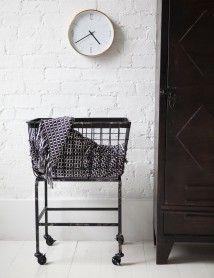 Downton Basket on Wheels