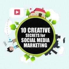 http://www.surrealmark8ng.com 10 Creative Secrets For Social Media Marketing [Infographic]