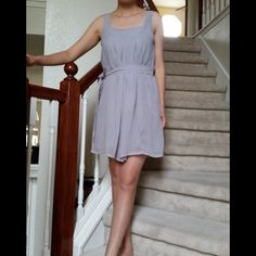 """FLASH SALE Summer Dress Brand new. Above the knee length. 100% polyester. A little ladder in the back, please see #3 picture.(I am 5'4"""")  Price is firm.  Do bundle to save shipping. Dresses"""