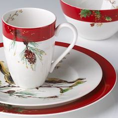 I always wanted a set of china JUST for Christmas