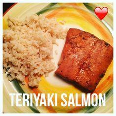Di's Food Diary 21 Day Fix Approved Recipes = Teriyaki Salmon
