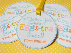 treats for students Easter Treat Tags, Eas Easter Treats, Easter Gift, Safari Party Decorations, Classroom Treats, Employee Gifts, School Treats, Easter Activities, 49er, Goody Bags