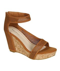 Look what I found on #zulily! Chestnut Martha Wedge by Bamboo #zulilyfinds