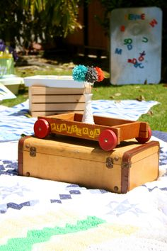 Vintage Book Themed Baby Shower