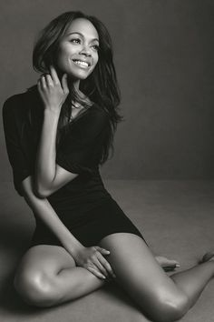 Zoe Saldana Is The New Face Of L'Oréal Paris (Vogue.com UK)