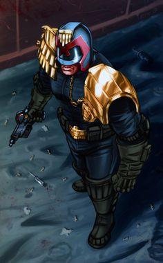 Dredd by Decepticoin.deviantart.com on @deviantART