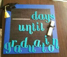 「count down calendar graduate design」の画像検索結果