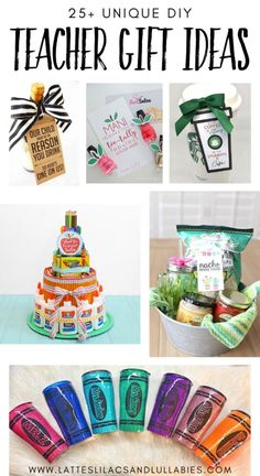 Are you looking for the perfect gift for your child's teacher? Today I'm sharing unique DIY teacher gift ideas that are simple and inexpensive. Teacher Appreciation Week, Teacher Gifts, Diy Gifts, Best Gifts, Handmade Gifts, Back To School Crafts, Lilacs, Early Childhood, Gift Ideas