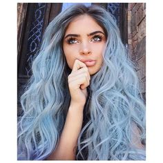 colored hair, hair goals, braids, hipster, hairstyle ❤ liked on Polyvore featuring beauty products, haircare, hair color and hair
