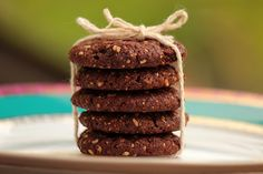 Mel e Pimenta: Cookies de ameixa, aveia e chocolate