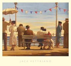 Jack Vettriano - The Pier
