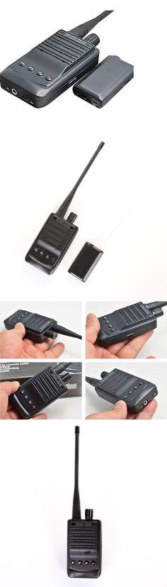 Surveillance Gadgets: W-04 Wireless Audio Transmitter Recording High Sensitivity Pickup Mic Spy Bug BUY IT NOW ONLY: $88.69