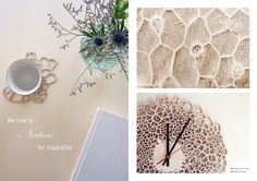 All products by Asymmetree are inspired by nature, architecture and science. Designs and patterns are created through the use of parametric design.