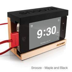 Nice way to do an alarm clock | Snooze