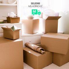 Prevoz robe i kako pakovati u kartonske kutije?