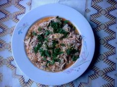Arroz Malandro de Frango Salsa Fresca, Japchae, Risotto, Grains, Pork, Chicken, Meat, Ethnic Recipes, 1