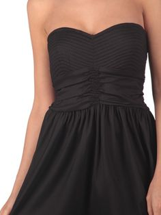 Black Tube Dress by Romeo & Juliet Couture