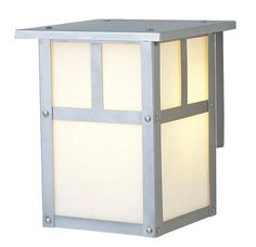 $53 outdoor light great reviews real metal and glass Lighting Direct Craftmade Z1842