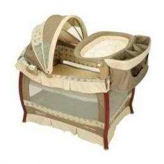 Graco Packnplay 9j00mlw Wood Playard Marlowe