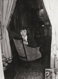 Colette, Paris, 1930 Photographer: Germaine Krull