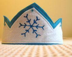 Coroa Frozen sem trança