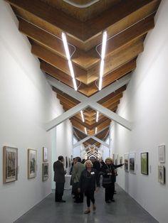 Parrish Art Museum by Herzog & de Meuron - awesome ceiling. Museum Architecture, Architecture Details, Interior Architecture, Museum Of Modern Art, Art Museum, Museum Plan, Museum Poster, Museum Exhibition, Museum Lighting