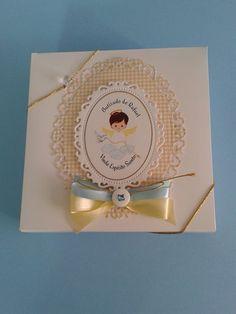 Embalagem da Mandala Espírito Santo, lembrança Batizado de Rafael