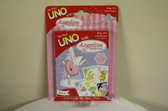 My First Uno Angelina Ballerina Game King Size Card Game #SababaToys