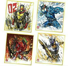 The Big Four, Kamen Rider, Power Rangers, Camilla, Ark, Character Design, Cool Stuff, Wallpaper, Drawings