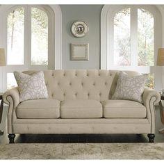 Kieran Sofa in Natural | Nebraska Furniture Mart