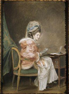La Lettre, Nicolas Lawreince le Jeune, 1775-85, Réunion des Musées Nationaux-Grand Palais -
