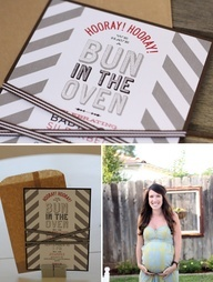 cute baby shower theme and love the grey/red combo