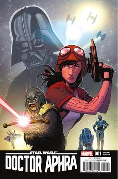 Preview: Star Wars: Doctor Aphra #1, Story: Kieron Gillen Art: Kev Walker & Salvador Larroca Cover: Karmome Shirahama Publisher: Marvel Publication Date: December 7th, 2016 Price...,  #All-Comic #All-ComicPreviews #Comics #KarmomeShirahama #KevWalker #KieronGillen #Marvel #previews #SalvadorLarroca #StarWars:DoctorAphra