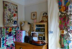 Textile artist Anne Kelly