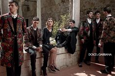 Jayeon Kim's pick:Dolce Gabbana FW14 mens campaign shot by Domenico Dolce