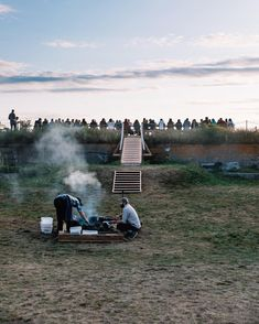 @oursecretsupper  Our adventure at Fort Scammel are on the link in our bio 🙌🏻   Photo by @carly.e.diaz Open Fire Cooking, Outdoor Dinner Parties, Open Fires, Rustic Outdoor, Niagara Falls, Maine, Backyard, Adventure, Summer
