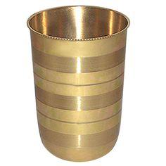 brass glass set, brass glass india