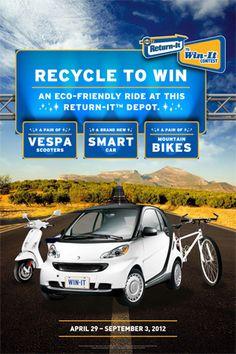 Encorp Pacific (Canada) - 2012 Return-It to Win-It Contest Future Car, Eco Friendly, Canada, Products, Futuristic Cars, Gadget