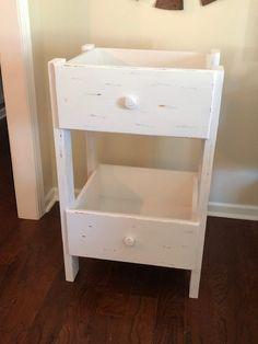 DIY Repurposed Drawer Shelf - The Little Frugal House Diy Furniture Projects, Repurposed Furniture, Furniture Makeover, Furniture Storage, Woodworking Projects Diy, Diy Projects, Drawer Shelves, Diy Storage Shelves, Shelf