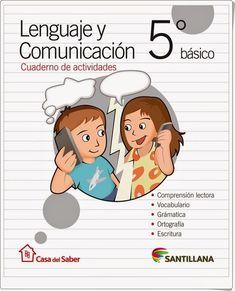 Cuaderno de Lengua de 5º de Primaria (Editorial Santillana Chile)