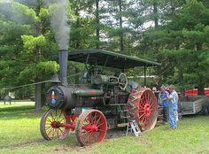 Steam Tractor