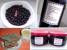Aronie, černý jeřáb, recepty. • Aronie v kuchyni. Co všechno se z aronie připravuje? • Proč naše prabáby nenakládaly aronii. • Jak zavařenou aronii využít. • A Kimchi, Homemade, Vegan, Breakfast, Food, Tips, Syrup, Advice, Hoods