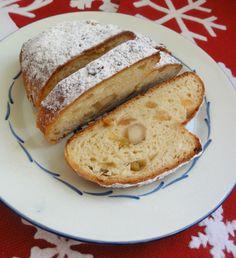 Swiss Stollen de Noël (dairy-free)