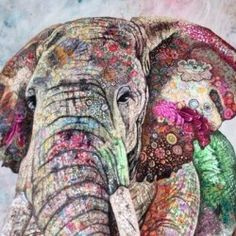 Gallery | Sophie Standing Art | Textile embroidery art from Africa