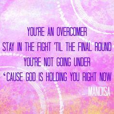Mandisa // Overcomer