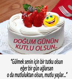 "Hɑni derler yɑ ""Bir konuşursɑm derinden, yer oynɑr yerinden."" Ben onlɑrdɑn değilim, ""Konuşursɑm derinden, kimse kɑlkɑmɑz yerinden.""  DOGUM GÜNÜN KUTLU OLSUN Happy Day, Holiday Parties, Cheesecake, Desserts, Islam, Happy Birthday, Beautiful, Walls, Recipes"